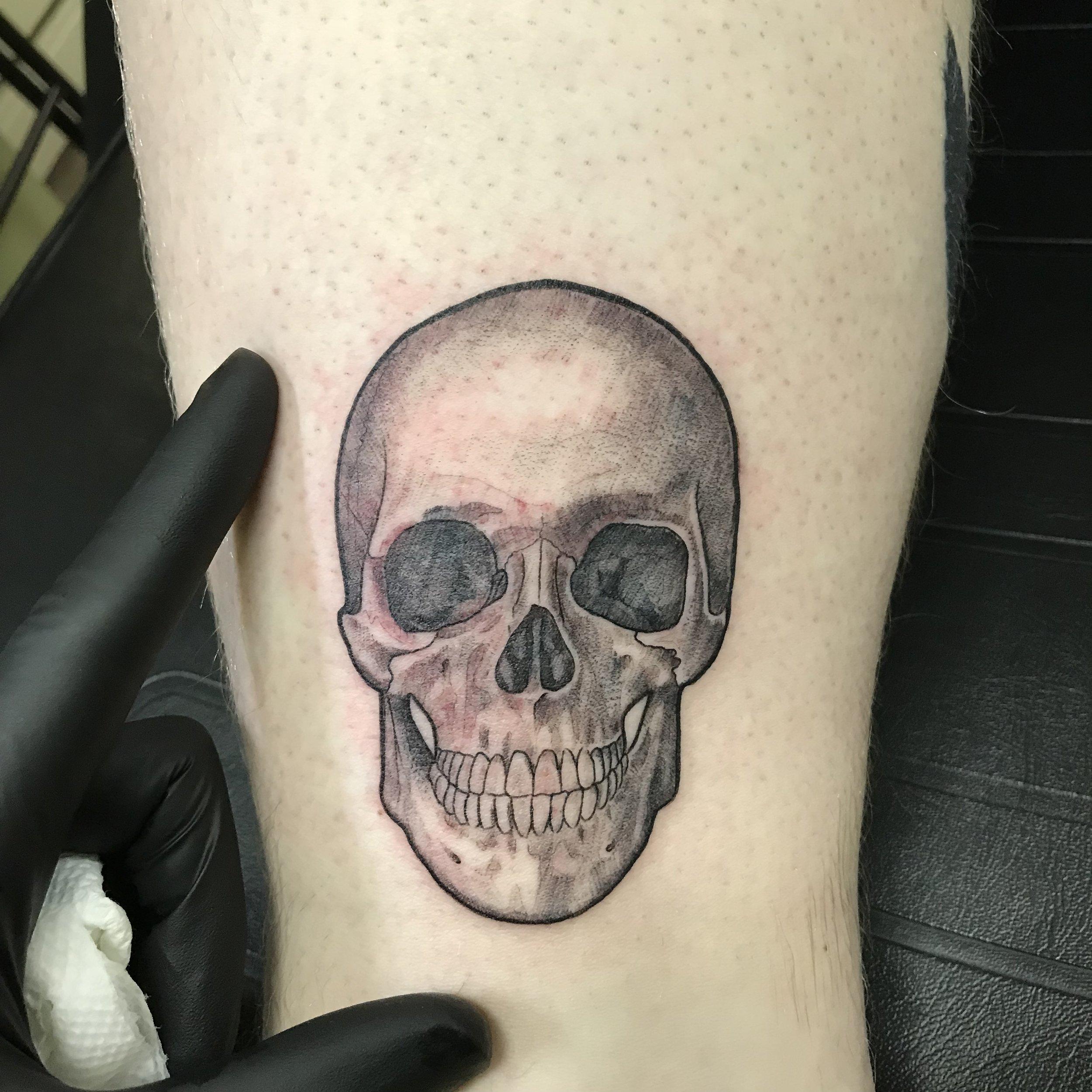 fine line single needle Justin Turkus Philadelphia best tattoo artist rob skull anatomical.jpg