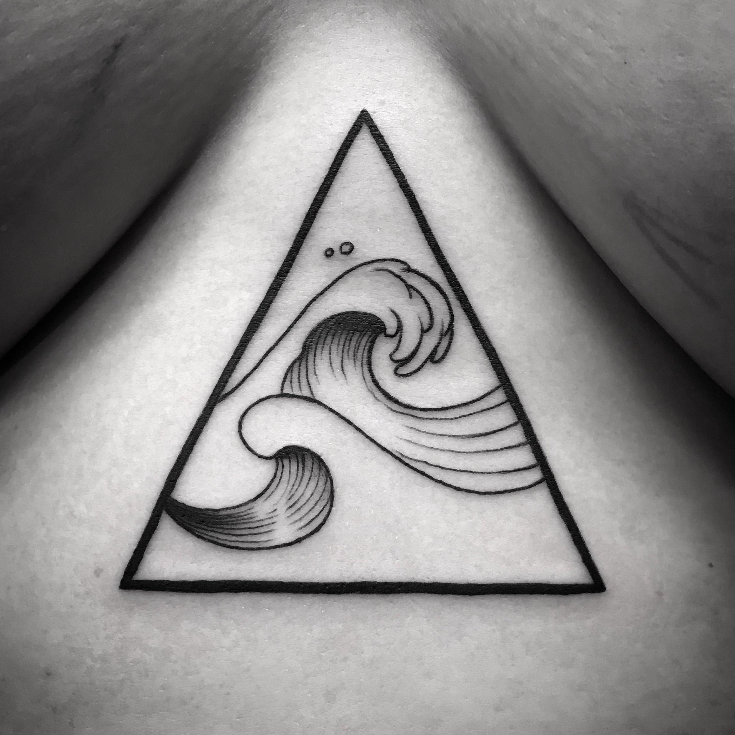 fine line single needle Justin Turkus Philadelphia best tattoo artist wave triangle 1.jpg