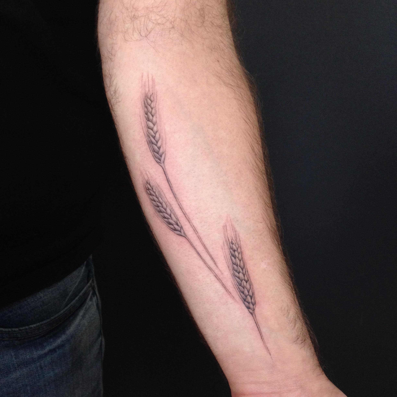 fine line single needle Justin Turkus Philadelphia best tattoo artist wheat.jpg