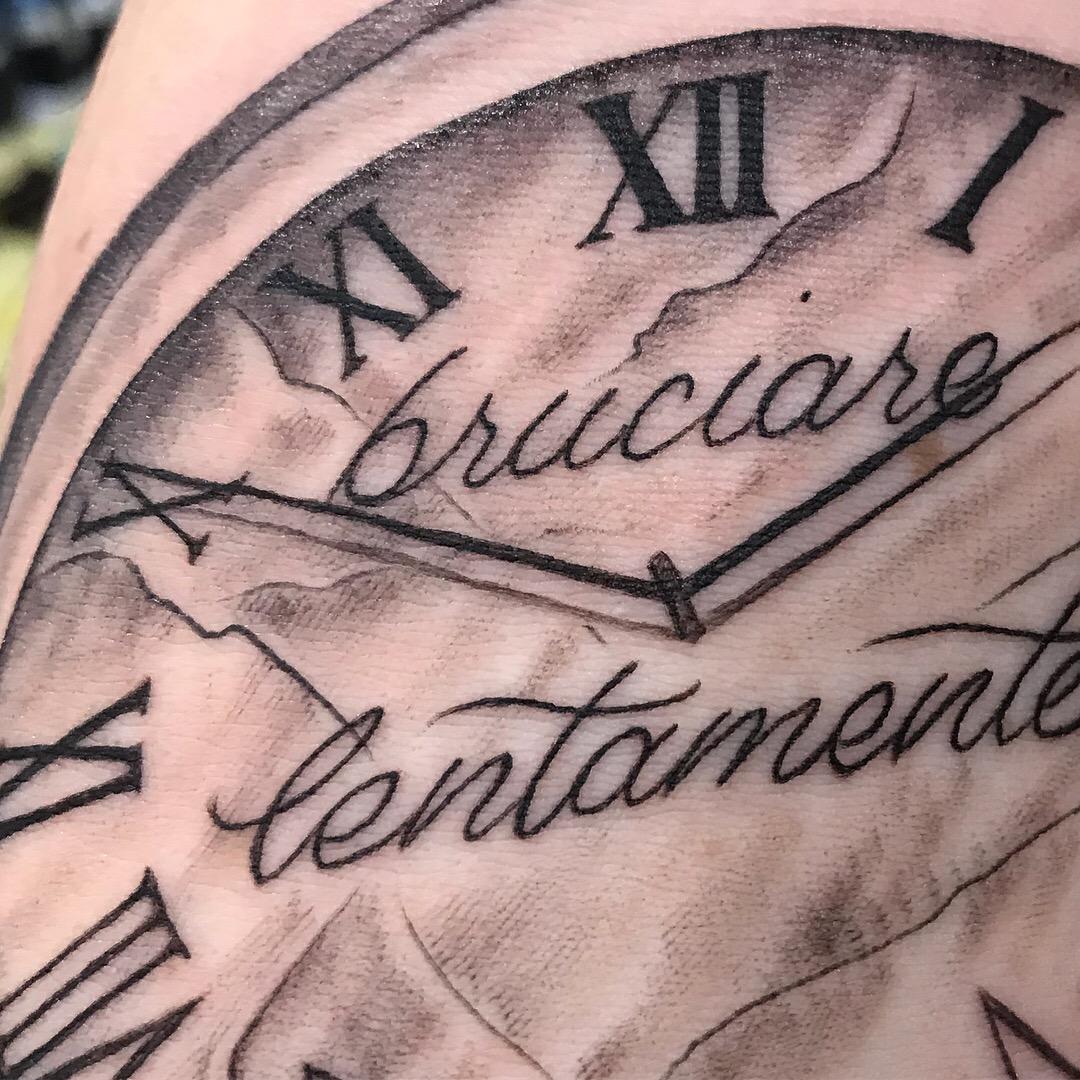 bg Justin Turkus Philadelphia fine line lettering best tattoo Artist clock detail fullsize.jpg