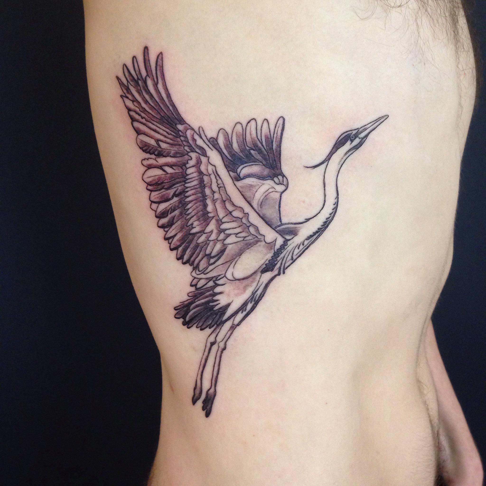 bg Justin Turkus Philadelphia fine line lettering best tattoo Artist crane heron wings fullsize.jpg