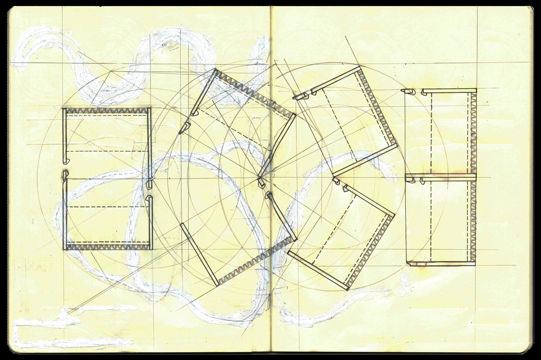 Plan concept sketch