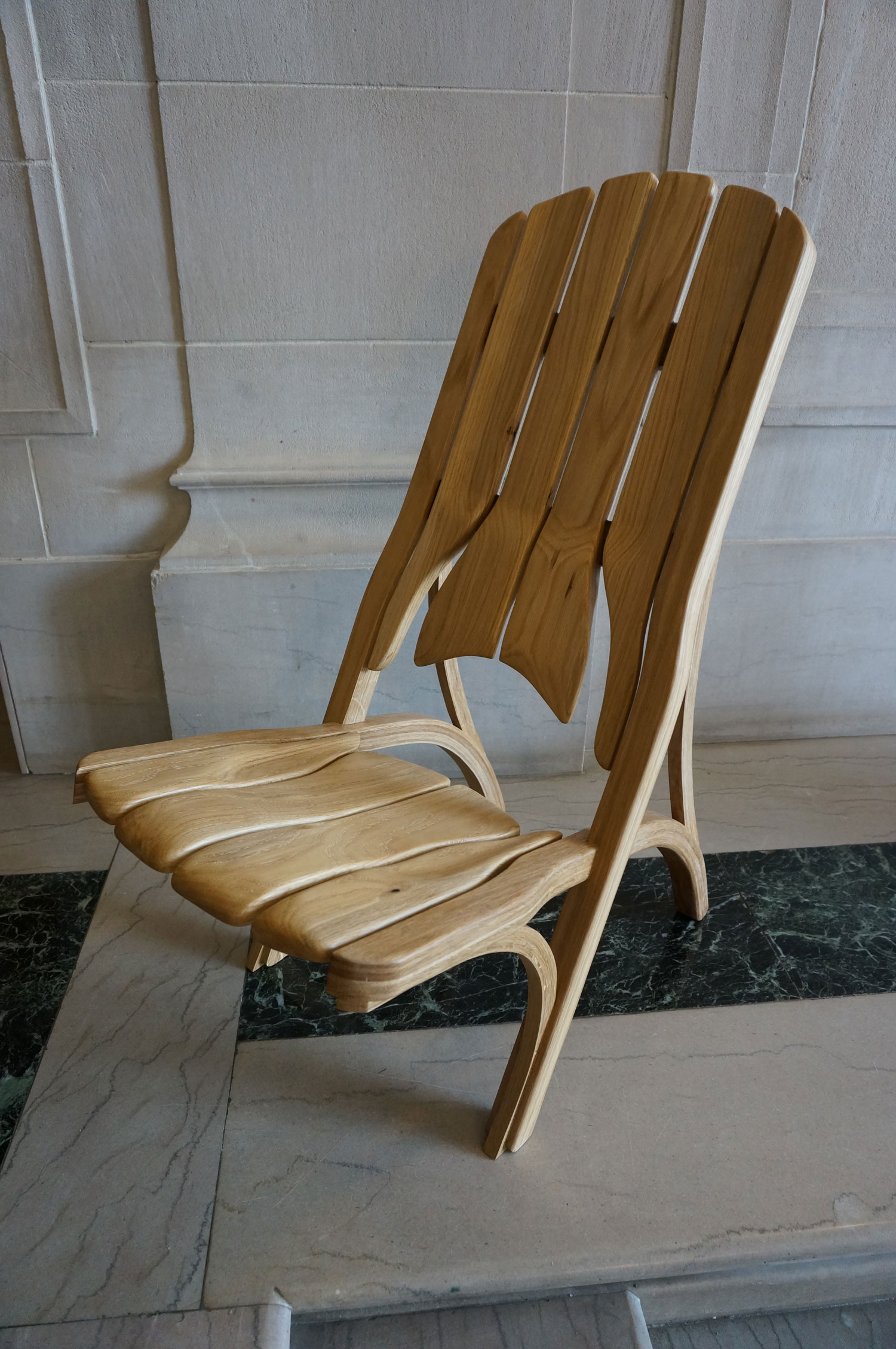 Upright Chair  (Curves)     F14  | Samuel Friedman (B.Arch 2015)