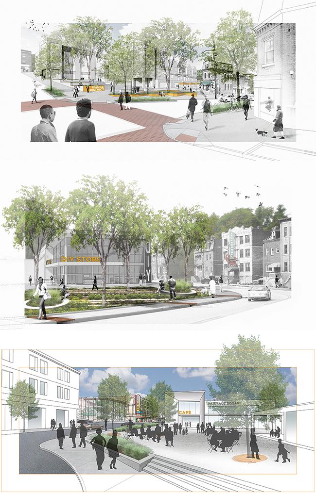 evolveEA's  Centre Avenue Corridor Redevelopment & Design Plan