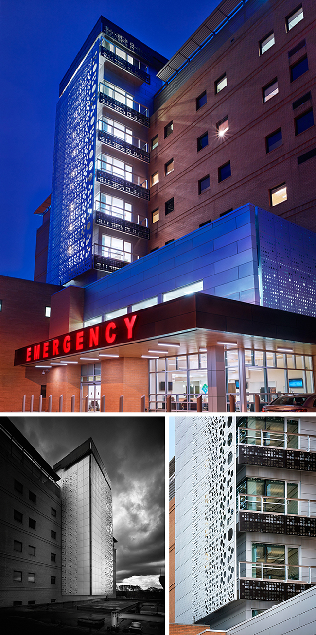 IKM's  Forbes Hospital Elevator Tower and Emergency Department Addition