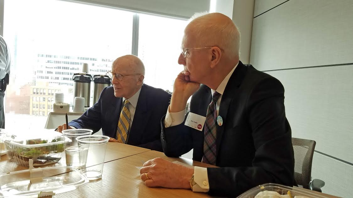 Gerald Hines and Don Carter. Photo credit: Ernest Bellamy