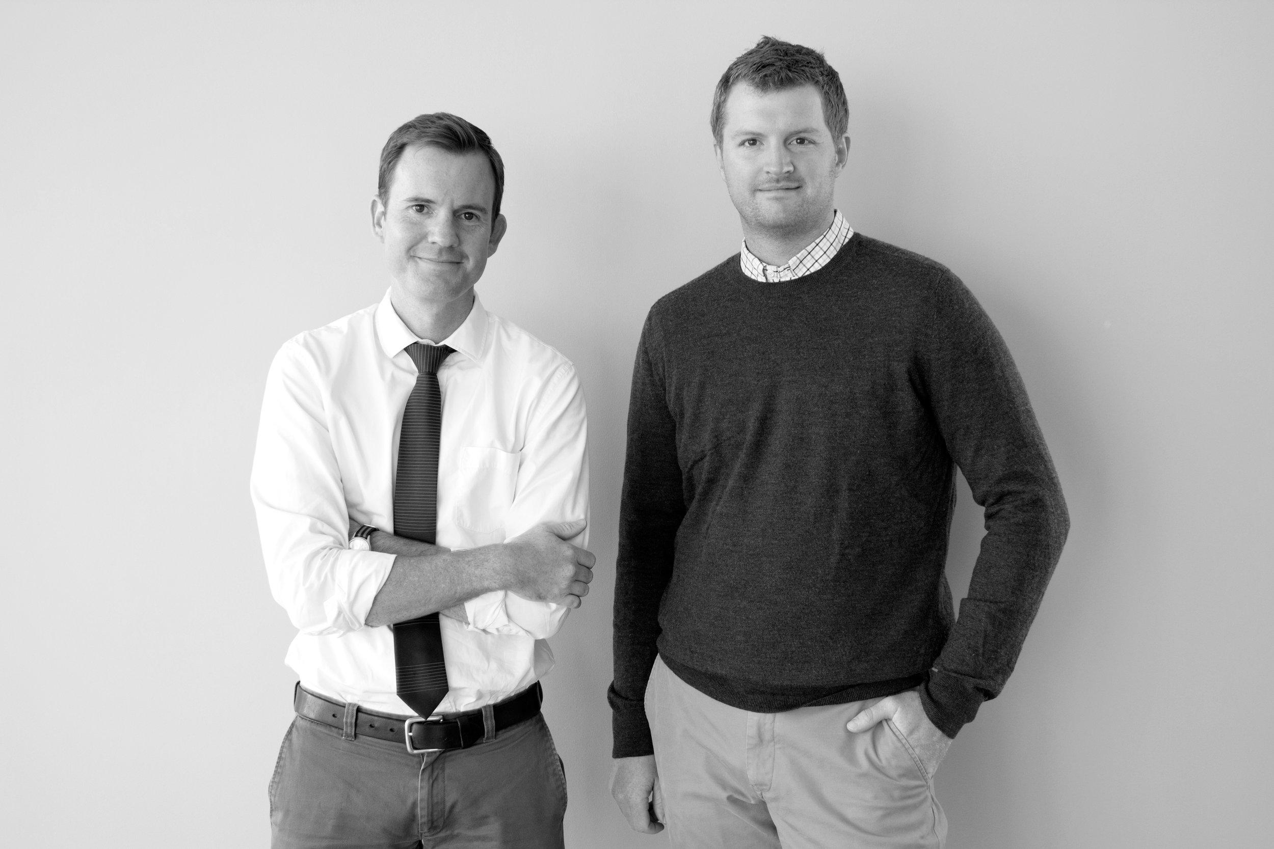 Kevin Wright and Joe Nickol