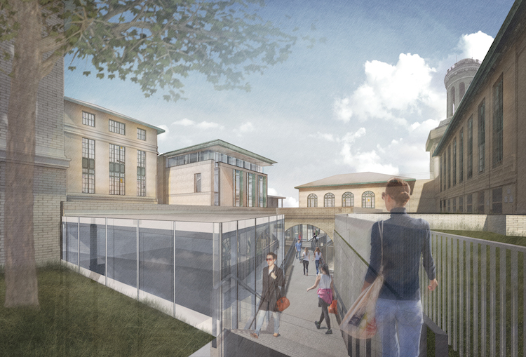 ANSYS Hall design rendering. Image courtesy of CMU (from  NEXT Pittsburgh ).
