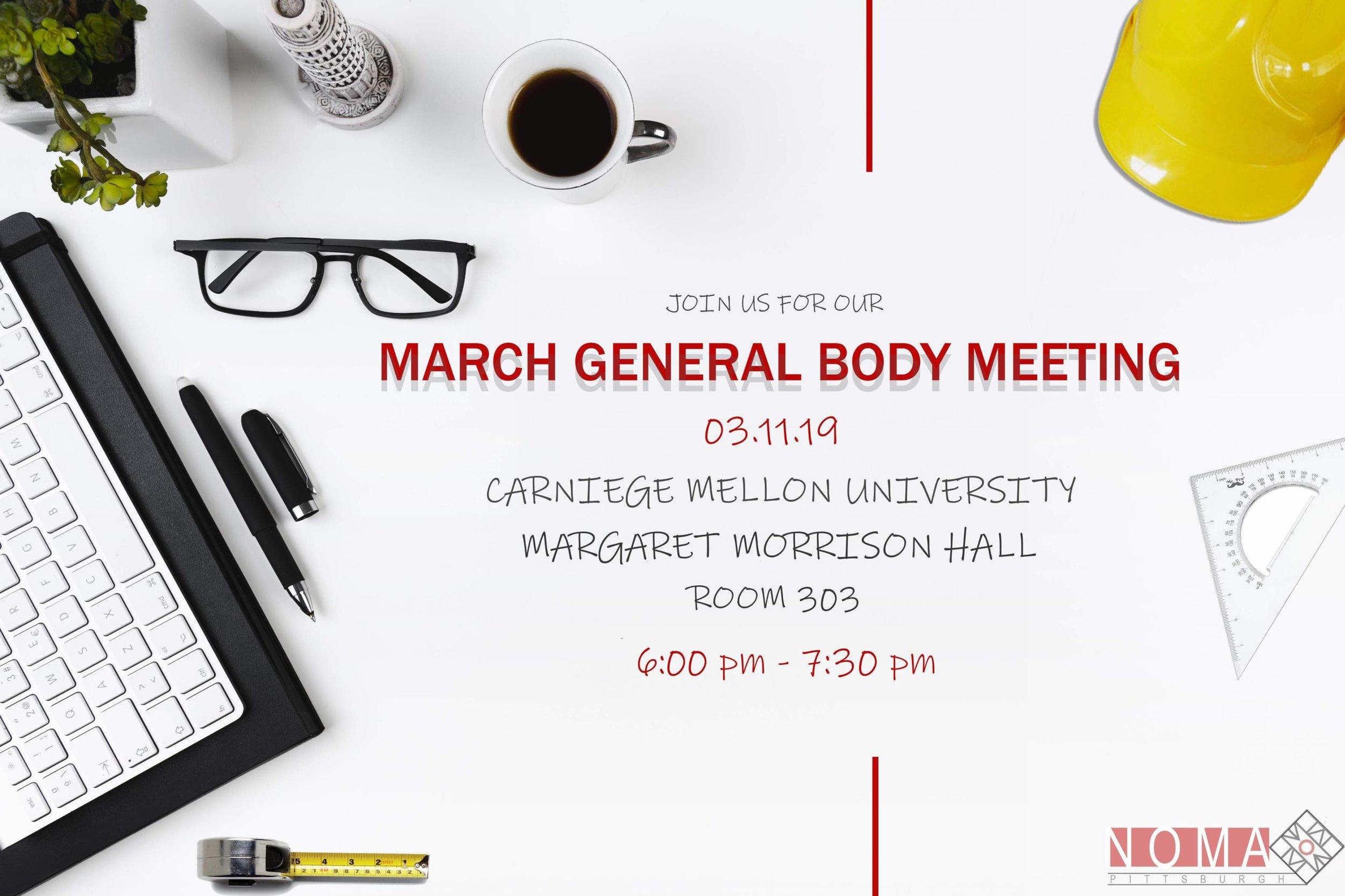 March General Body Meeting Flyer - Erica Cochran.jpg