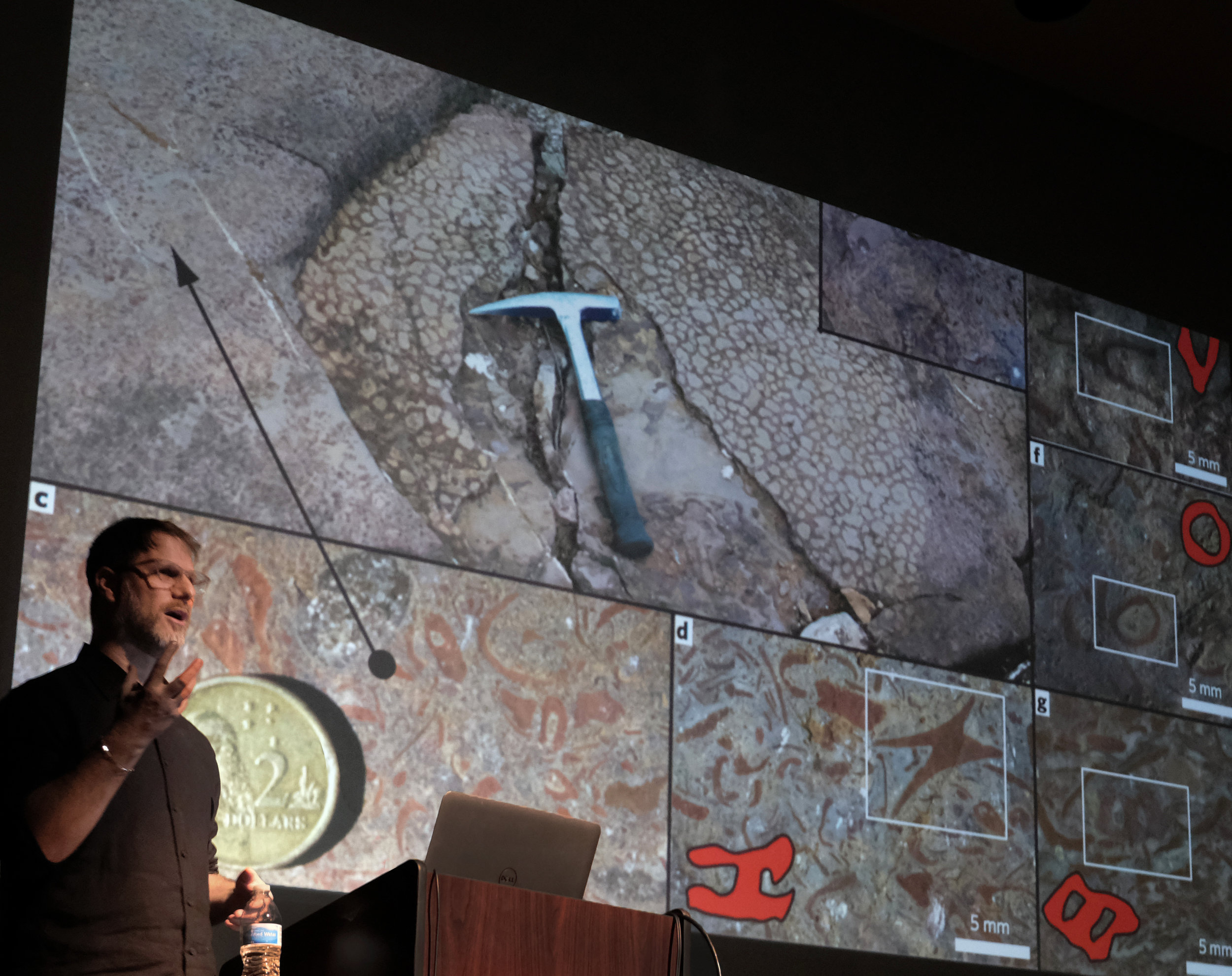 Brad Samuels, leader of SITU Research, shared his recent project work during the SoA Lecture Series event on February 11 at Kresge Theatre. Photo by Michael Powell.