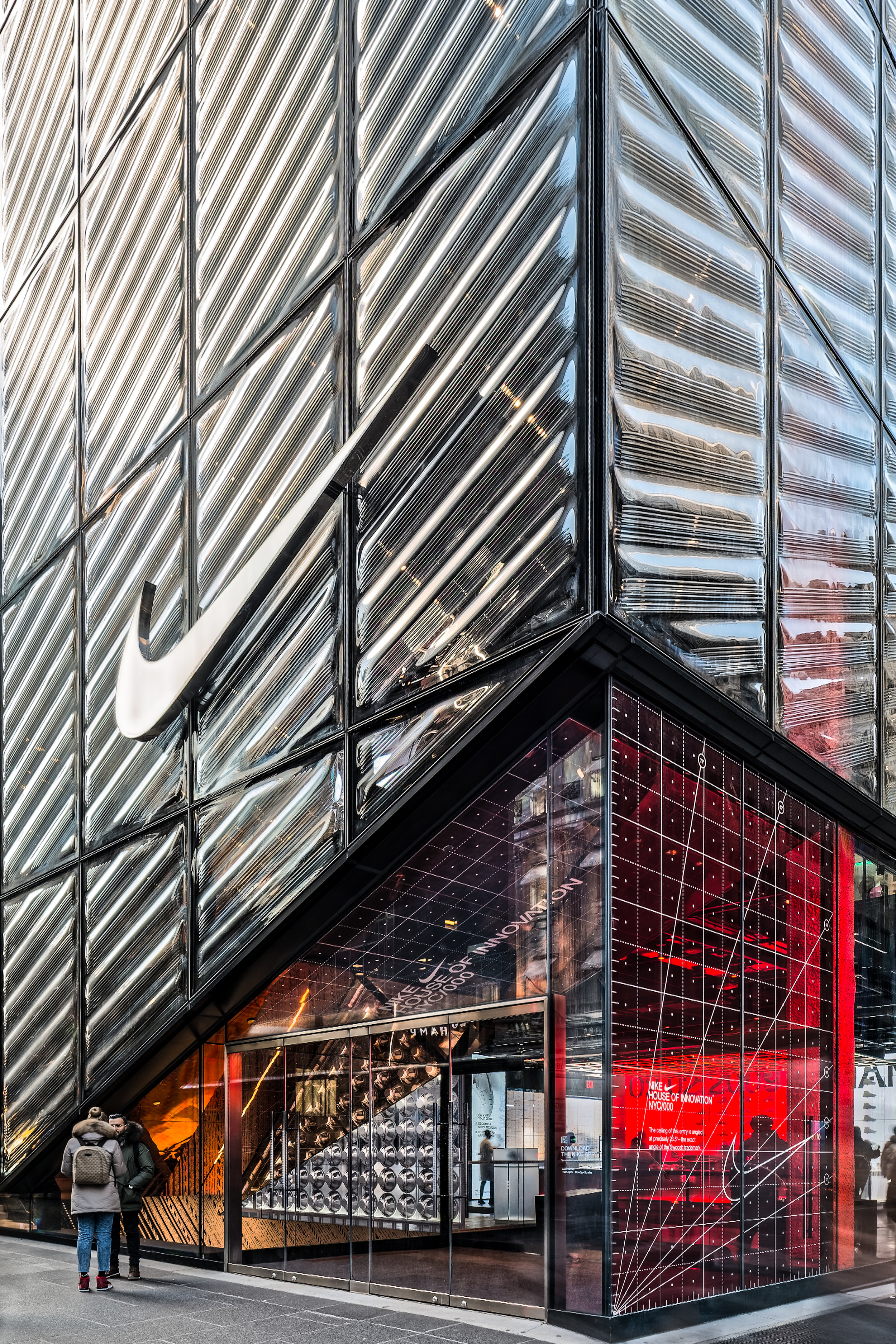 Nike House of Innovation NYC Photograph by    Whitney Starbuck Boykin