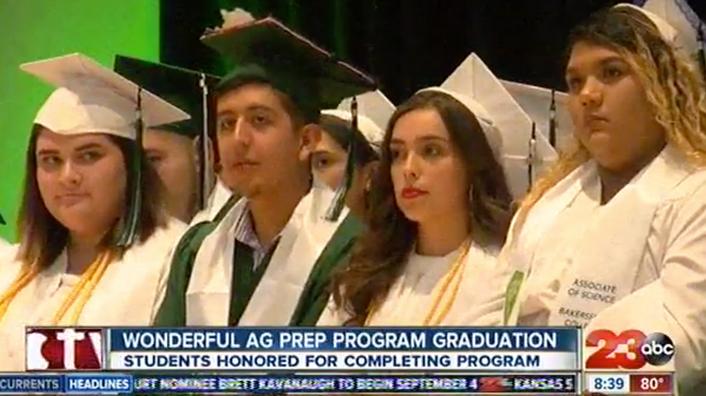 Wonderful AG Prep Program Graduation
