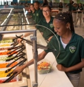 The Bakersfield Californian  covers the Wonderful College Prep Academy's Nutrition Program