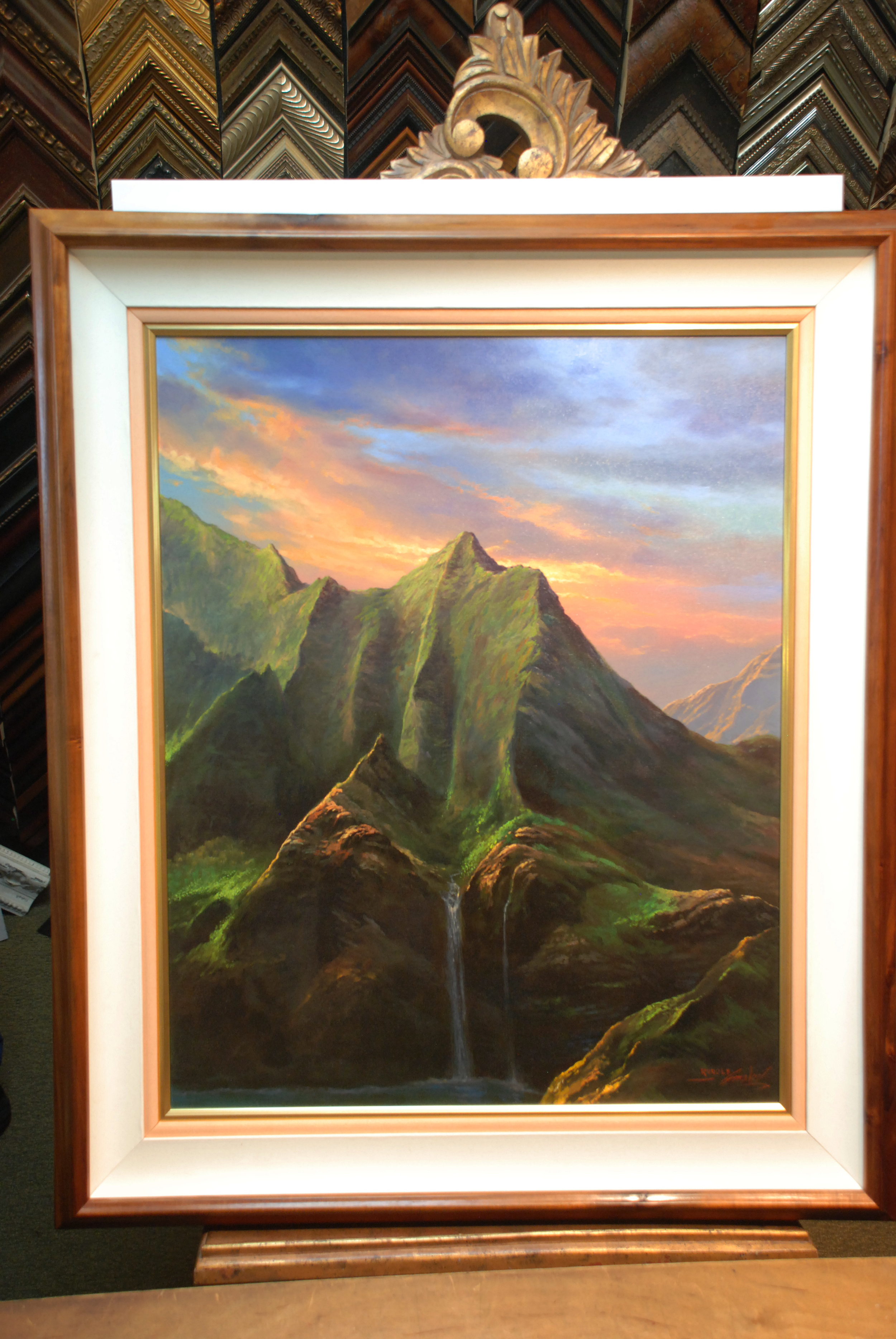 PHOTO CREDIT: CARTER HOUSE - PAINTING BY Gonzalez - Silent Falls