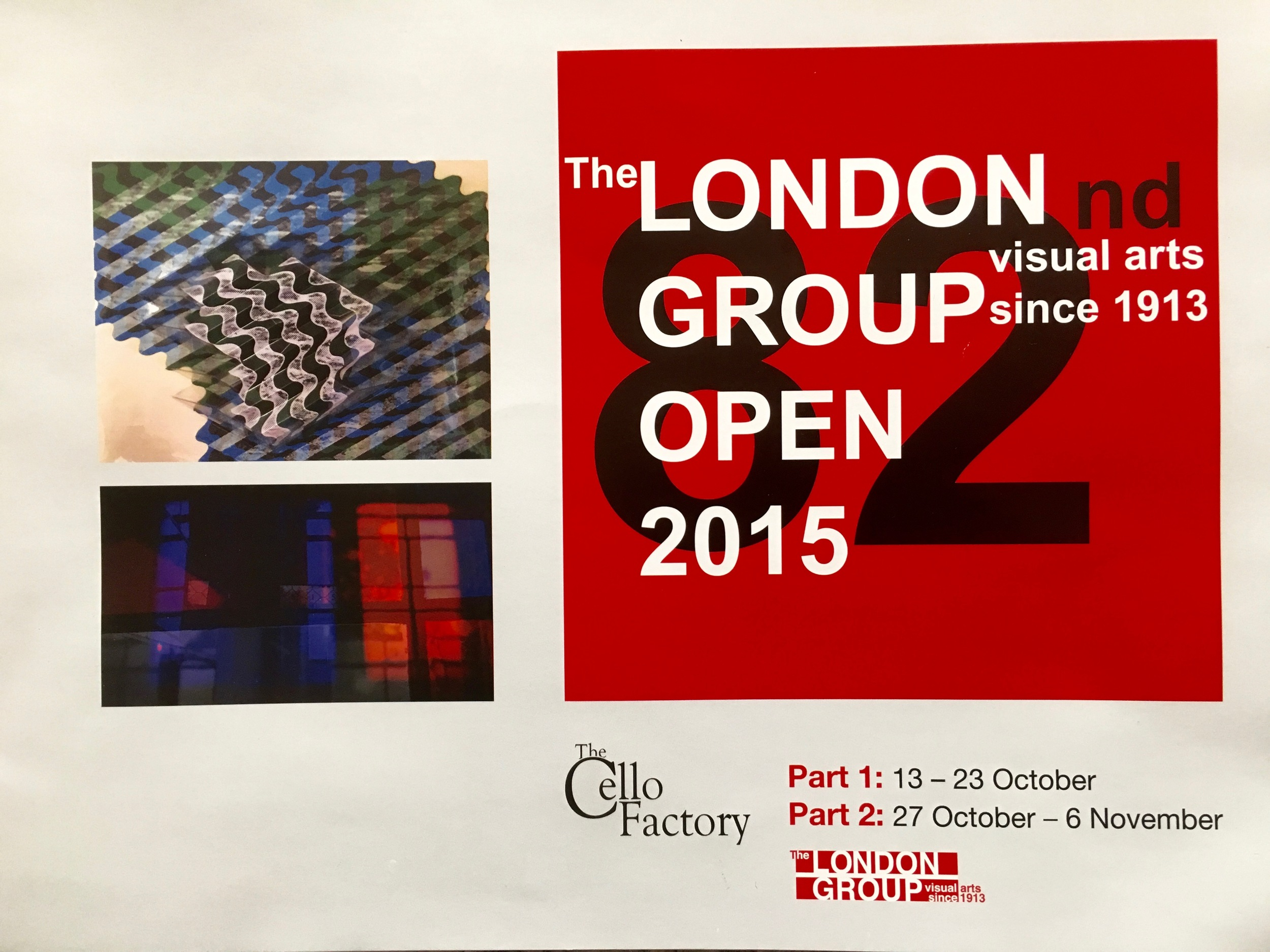 London Group 2015 exhibition catalogue