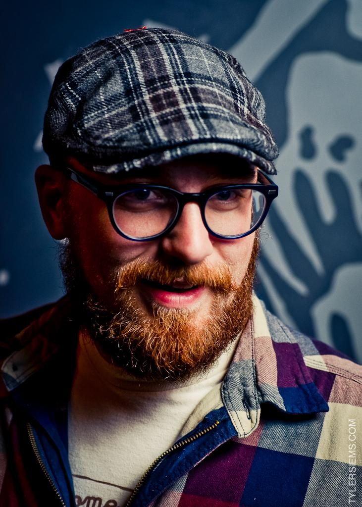 Anthony Difabio rockin' a mighty fine redbeard.