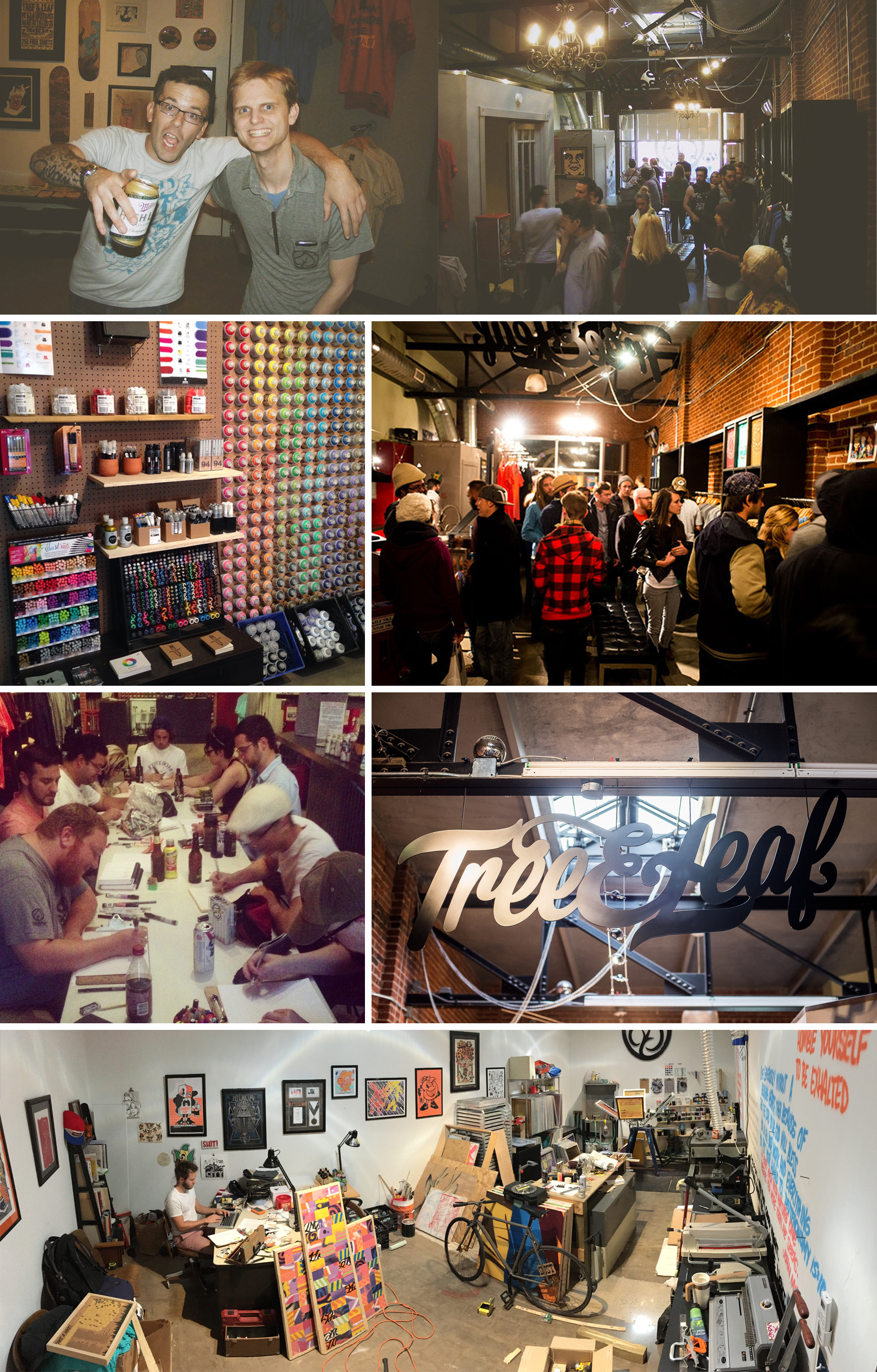 In 2013, we opened our store in the Plaza District. Our friends at DNA Galleries were expanding into the space next door and we knew we had to jump into their old space.We had spent a lot of time in the neighborhood and knew it was a fit for us. At that time I didn't know that I would be moving into the neighborhood and marrying the Plaza District Executive Director, Kristen Vails. Fate has a fun way of dealing it's cards.  It's been 3 years since our move into the Plaza and I think it was the best business move we ever made. I have a heart for this neighborhood like no other. I love this community sometimes until it hurts. Kristen and I have invested our blood, sweat, and tears into 16th St. and I don't foresee us leaving it any time soon.