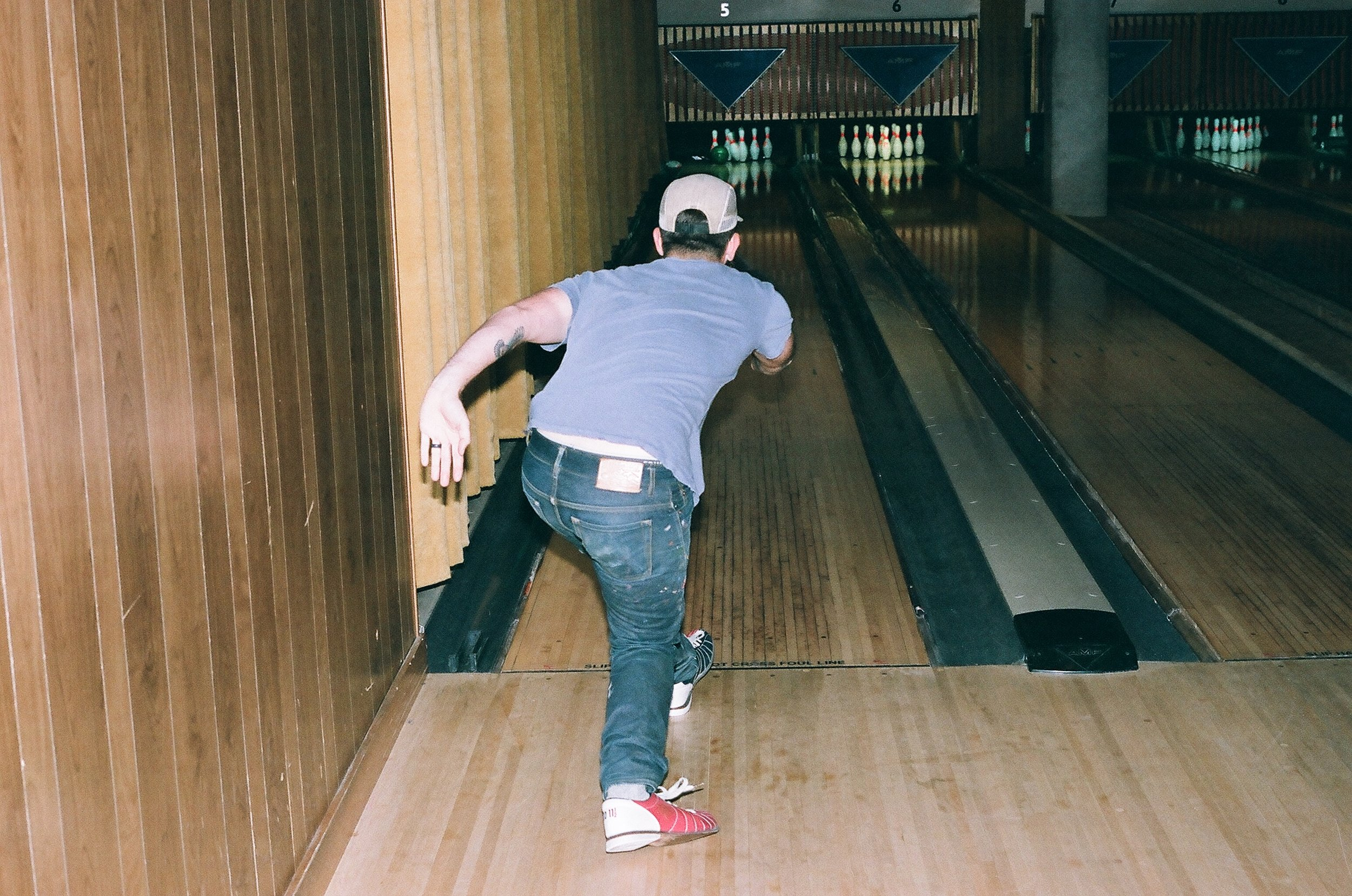 That form is what got Dusty a turkey on the last frame.