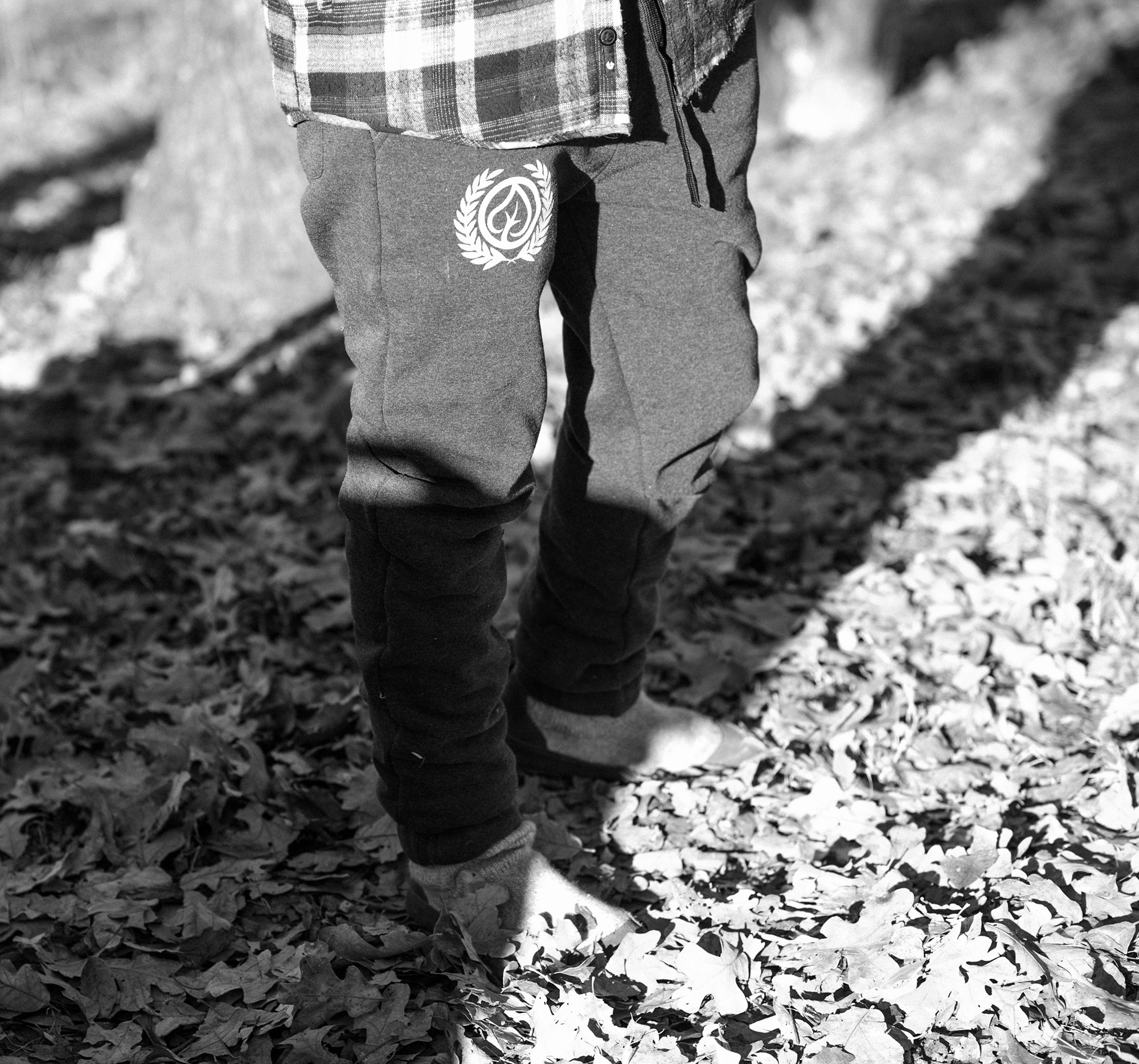 Acorn slipper boots, super soft joggers, and a quilted flannel: the most comfortable way to spend a morning at the campsite or at home.