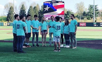 national anthem at VT baseball game