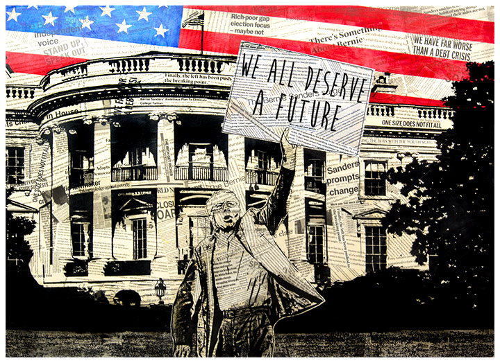 """We All Deserve A Future"" by Greg Auerbach, 2015"