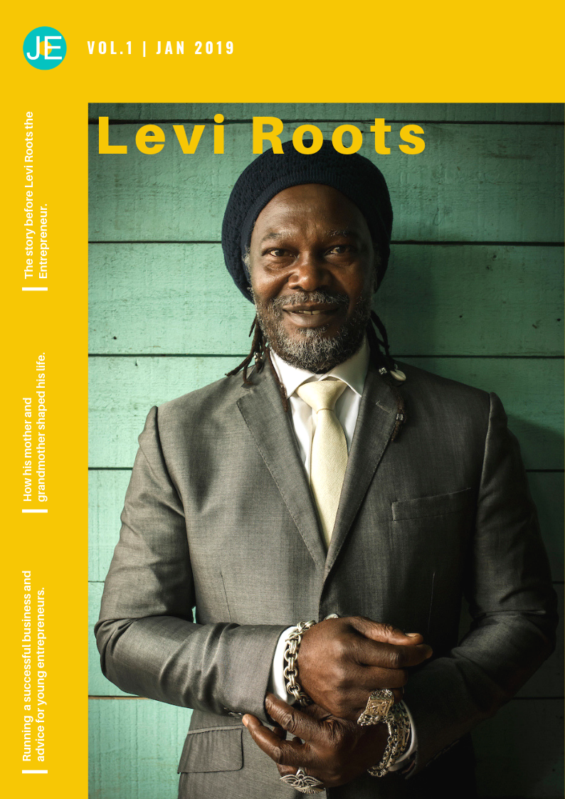 EXCLUSIVE: Interview with Levi Roots. - He talks…* How his Grandmother taught him all he knew about cooking and singing* Spotting an opportunity to turn his passion into a lucrative business* Why he went on Dragons Den with his guitar and chnaged the game* Moving to the UK at 12 years old not being able to read or write* Experiencing racism for the first time* His relationship with Peter Jones and Richard Farleigh 12 years later