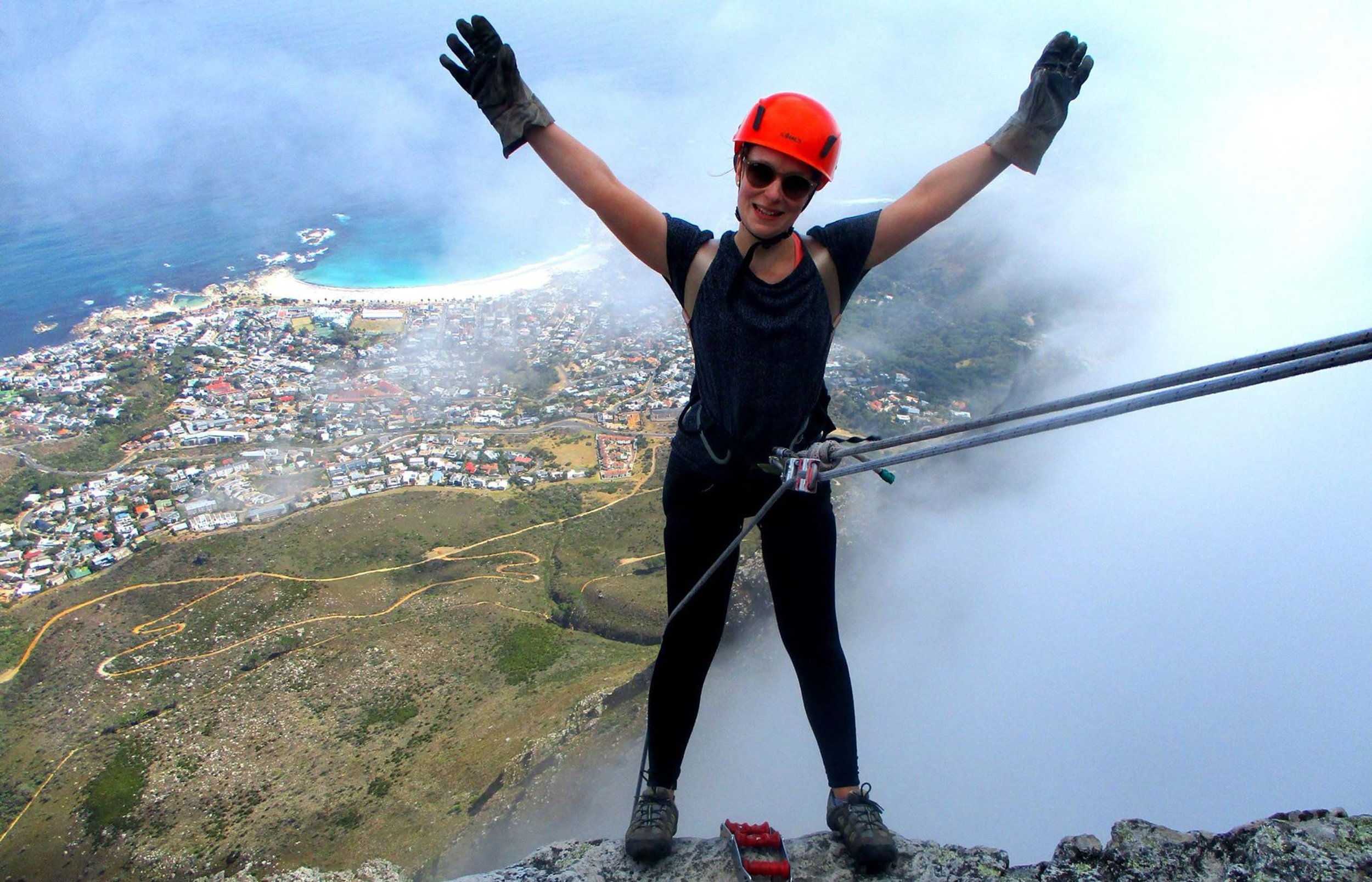 Abseiling Table Mountain in Cape Town