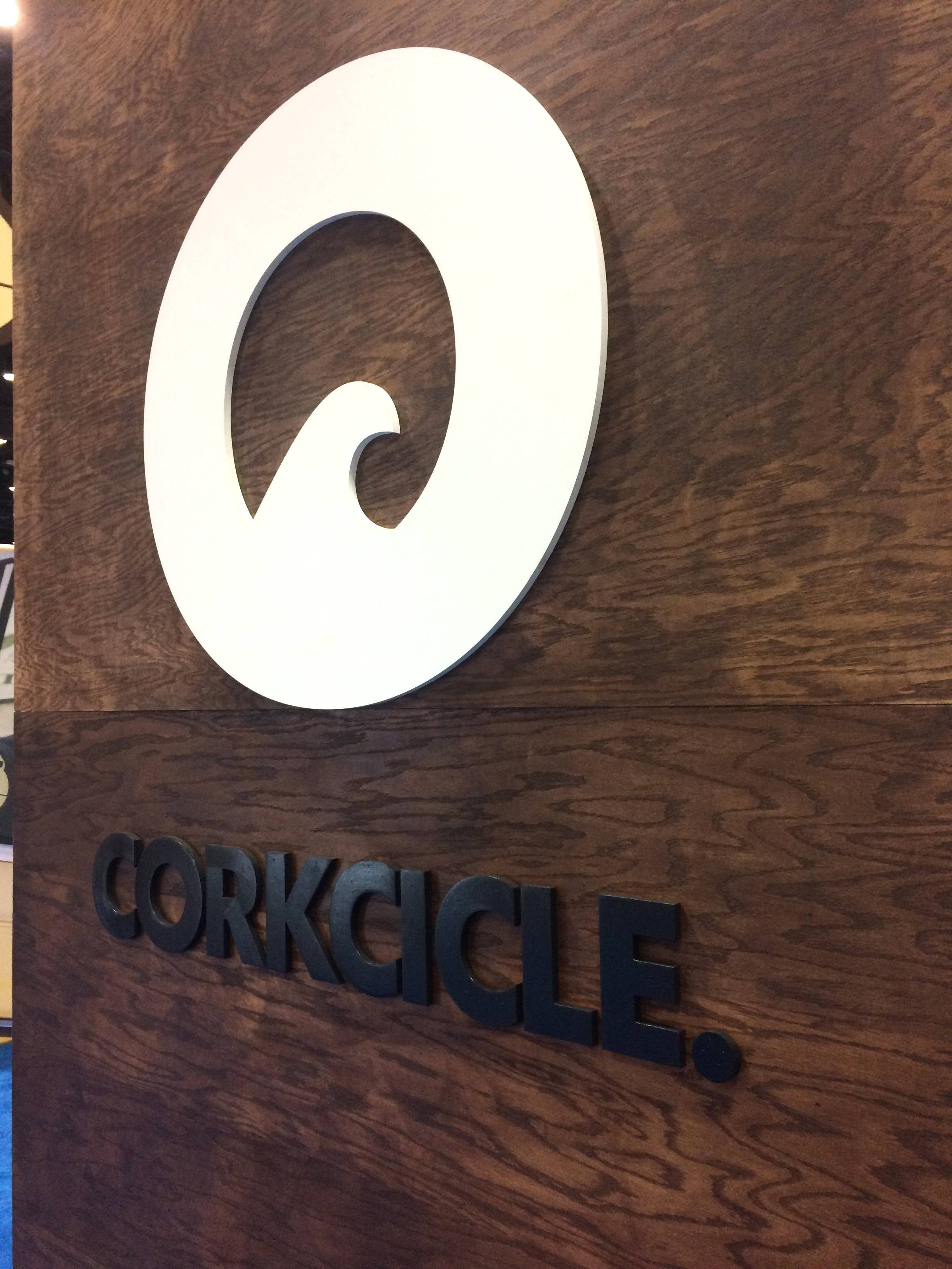 Corkcicle had a really nice booth, although they were too busy on the inside to take a decent photo of all the sweet details.