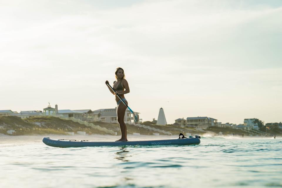 Serenity board design by Jeremy Kennedy. Model: Allie Stokes