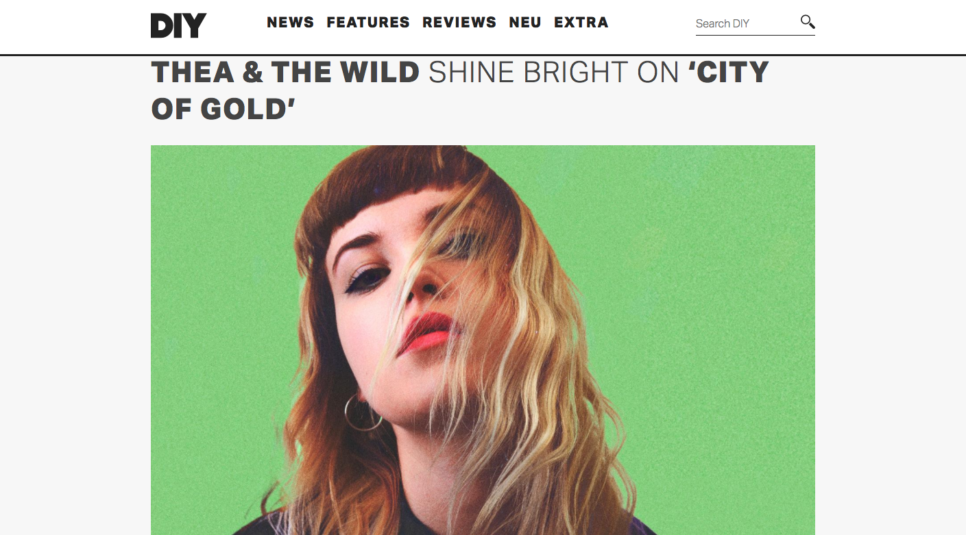 Thea & The Wild DIY mag