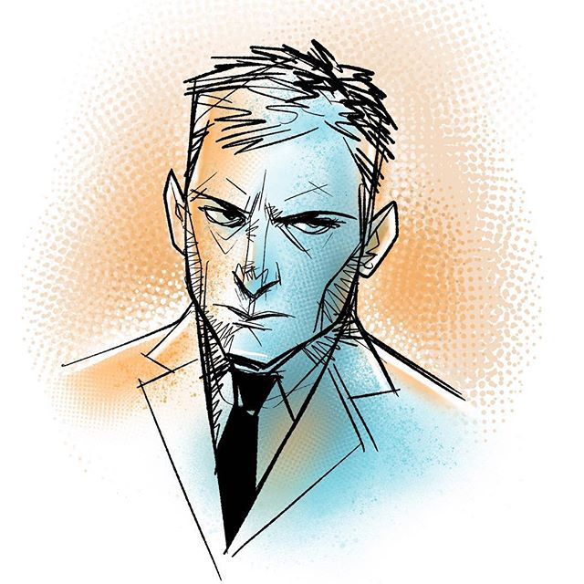 Daily doodle. #sketch #draw #face #procreateapp