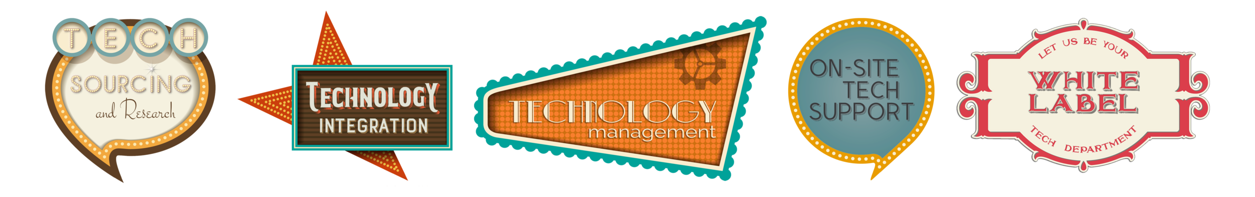 Power Event Group Technology Services - Technology Sourcing - Technology Research - Technology Integration - Technology Management - On-Site Technology Support - White Label Technology Services
