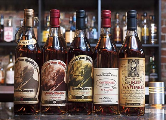 Bottles of Pappy. Photograph by Marvin Joseph.