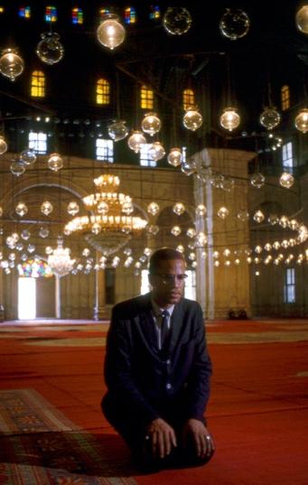 Malcolm X in Egypt, 1964.