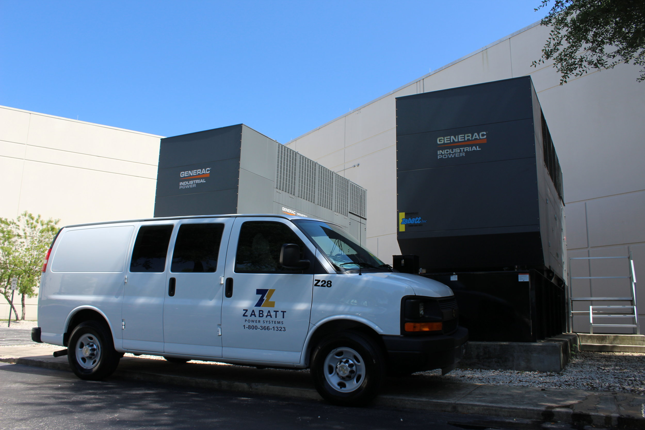 Reliable Backup Power   Keep your business online with professionally maintained backup generators.