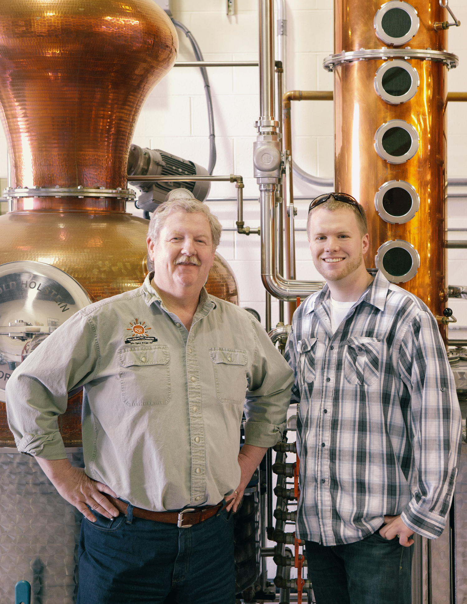Distillery Owners photographed by Adam DeTour