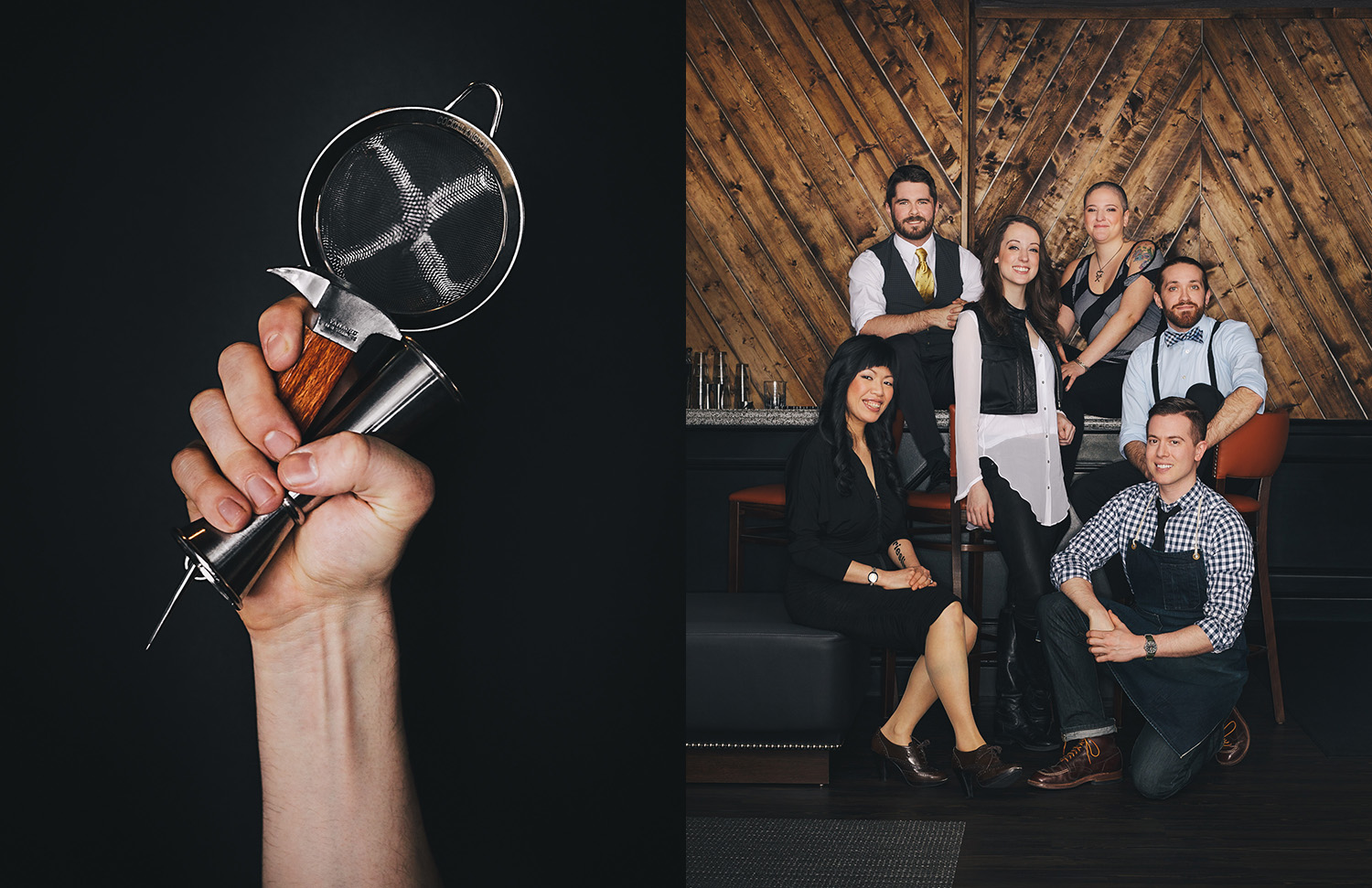 Improper Bostonian Boston's Best Bartenders Cover photographed by Adam DeTour