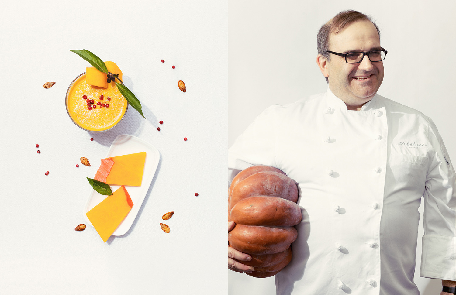 Chef Charles Draghi photographed by Adam DeTour