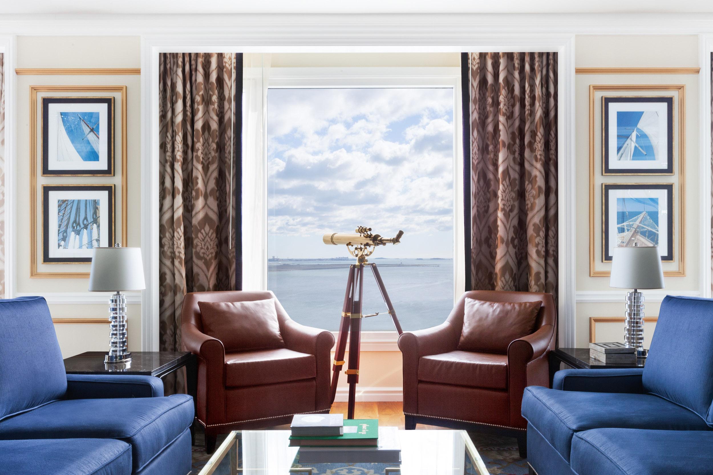 Boston Harbor Hotel Room photographed by Adam DeTour