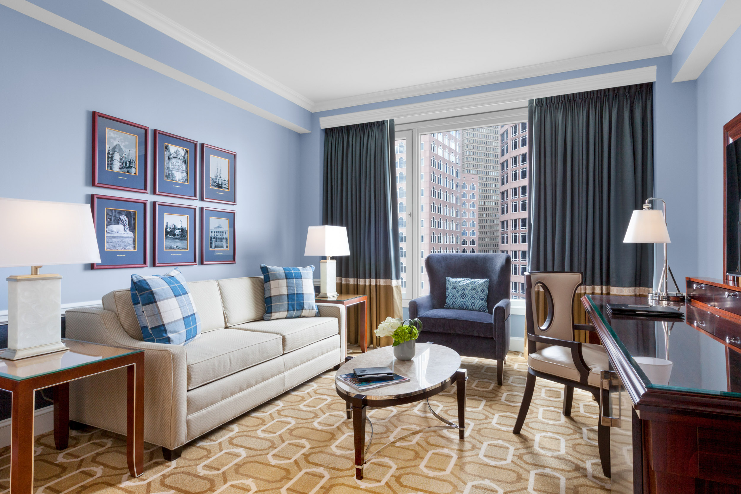 Boston Harbor Hotel room service photographed by Adam DeTour