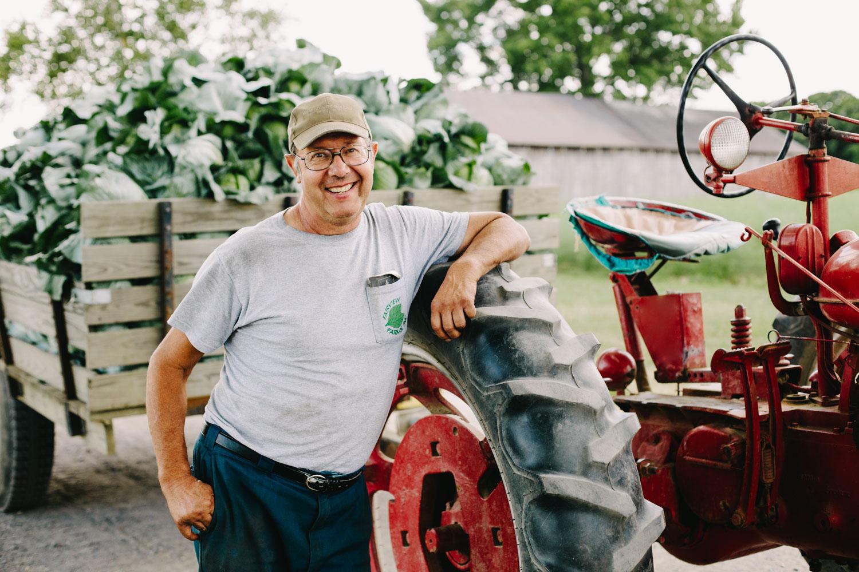Portrait of Farmer by Adam DeTour