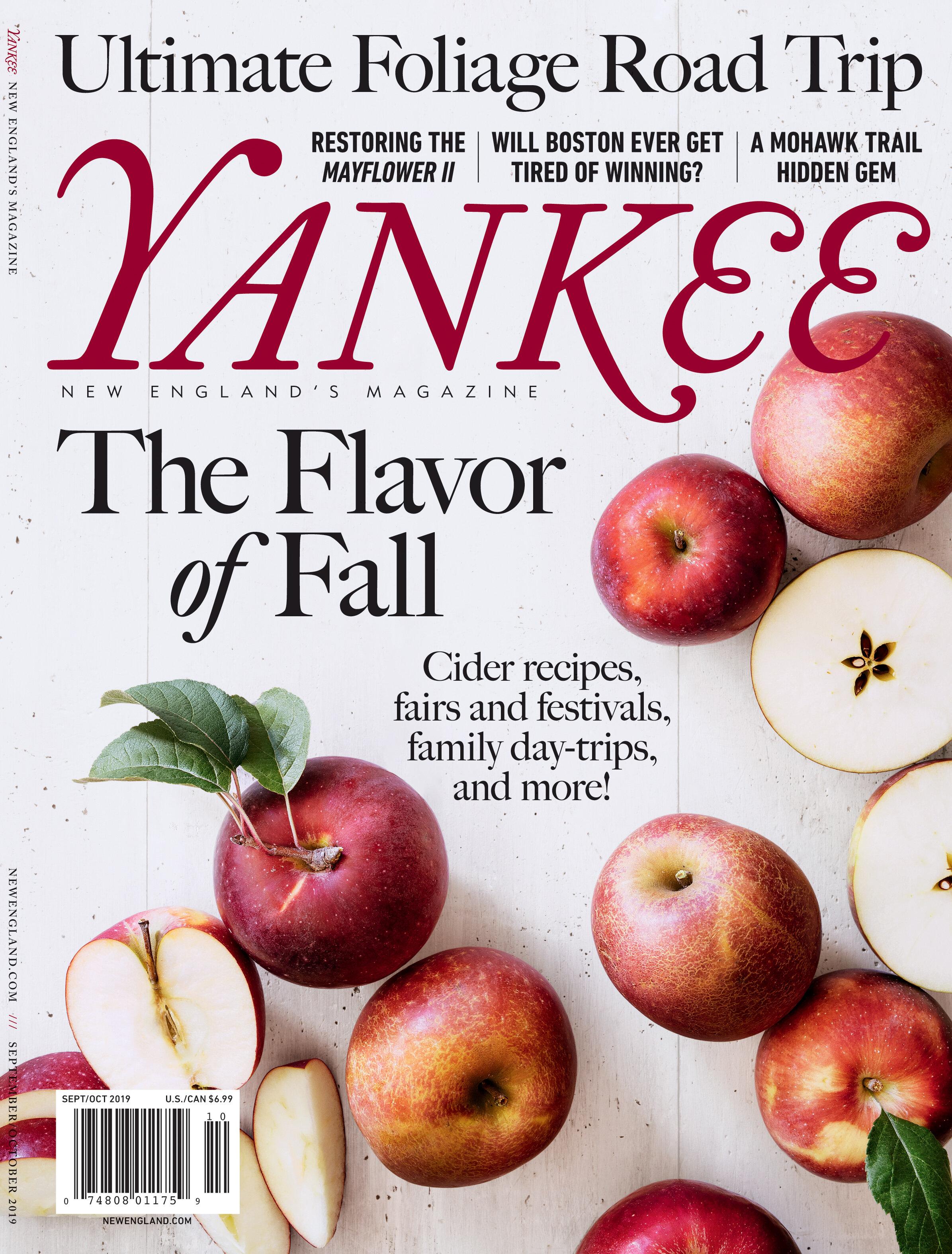 Yankee Magazine Cover by Adam Detour