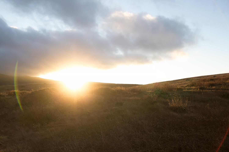 Sunset on the Cavern Loop Trail