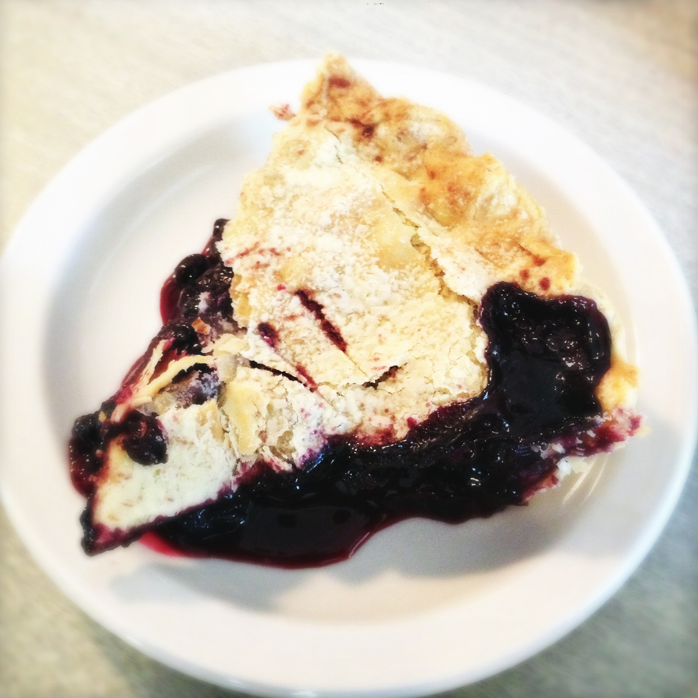 Huckleberry Pie, nommy.
