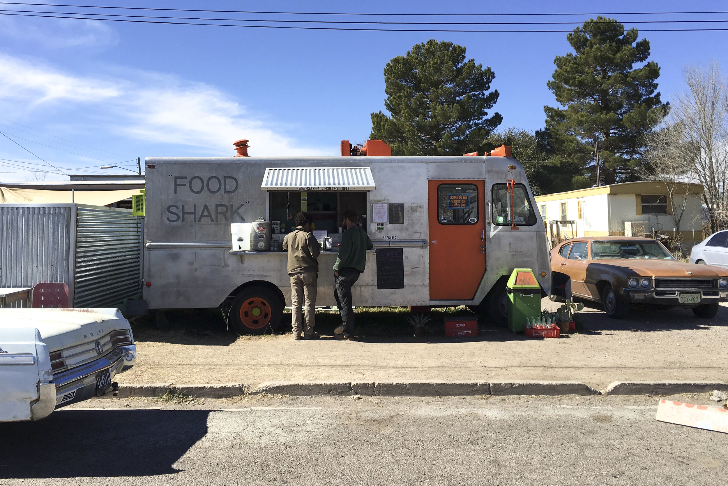 Eating at Food Shark is a must while you're in Marfa.