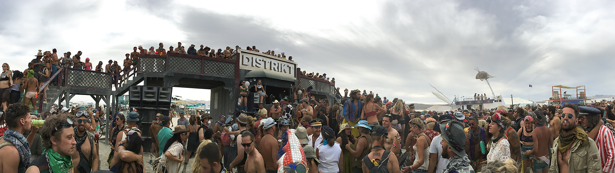 DISTRIKT, the mecca of sunset dance parties.