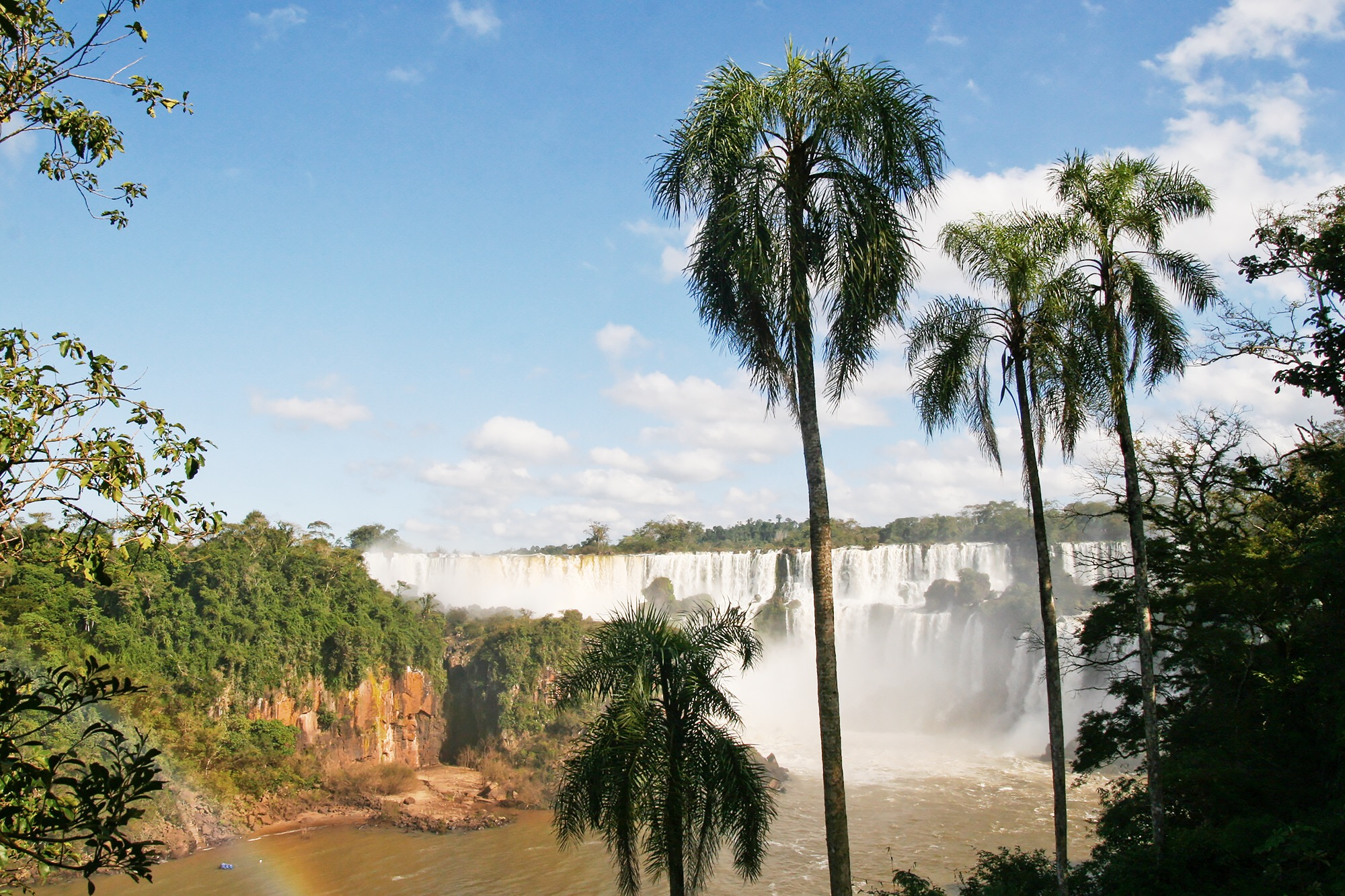 Second largest waterfalls in the world