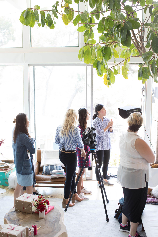 Behind the scenes.Photo by  Ashley     Batz .