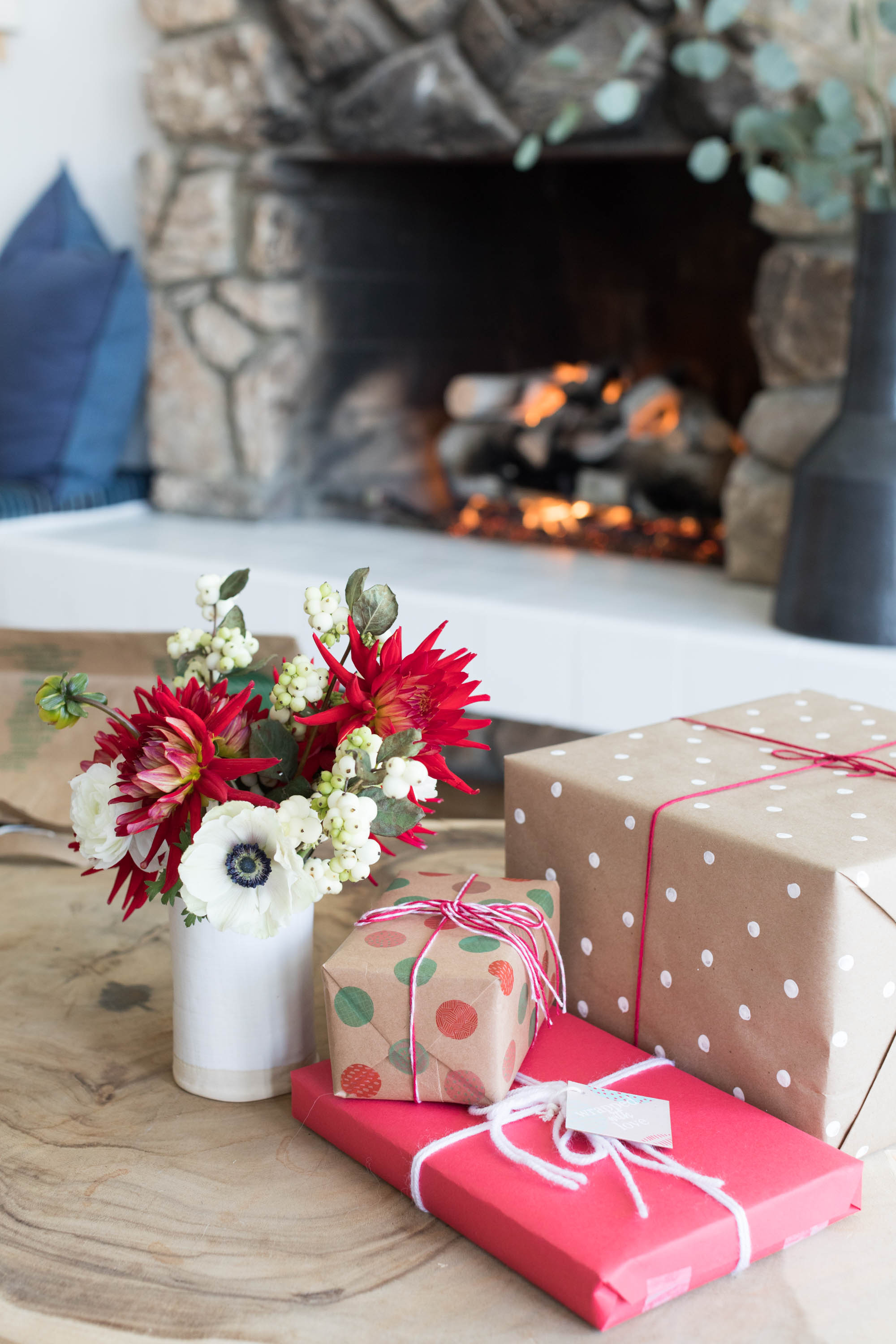 Merry Making gifts with thredUP.Photo by  Ashley     Batz .
