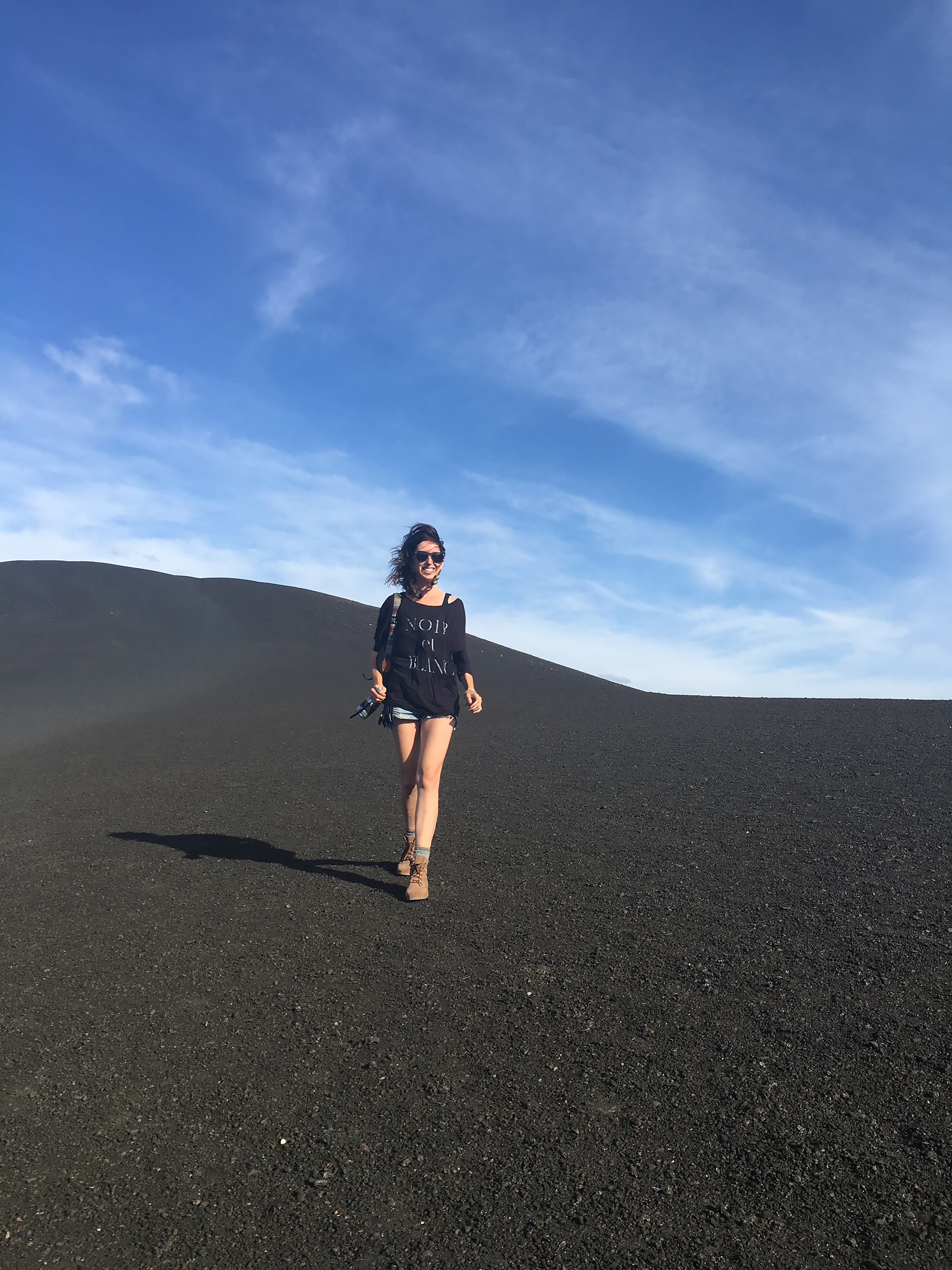 Exploring Craters of the Moon national monument, Idaho